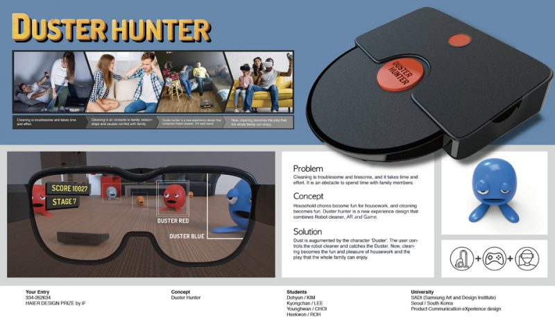 DUSTER HUNTER, <br />iF의 Best of the Year로 선정 첨부 이미지 -