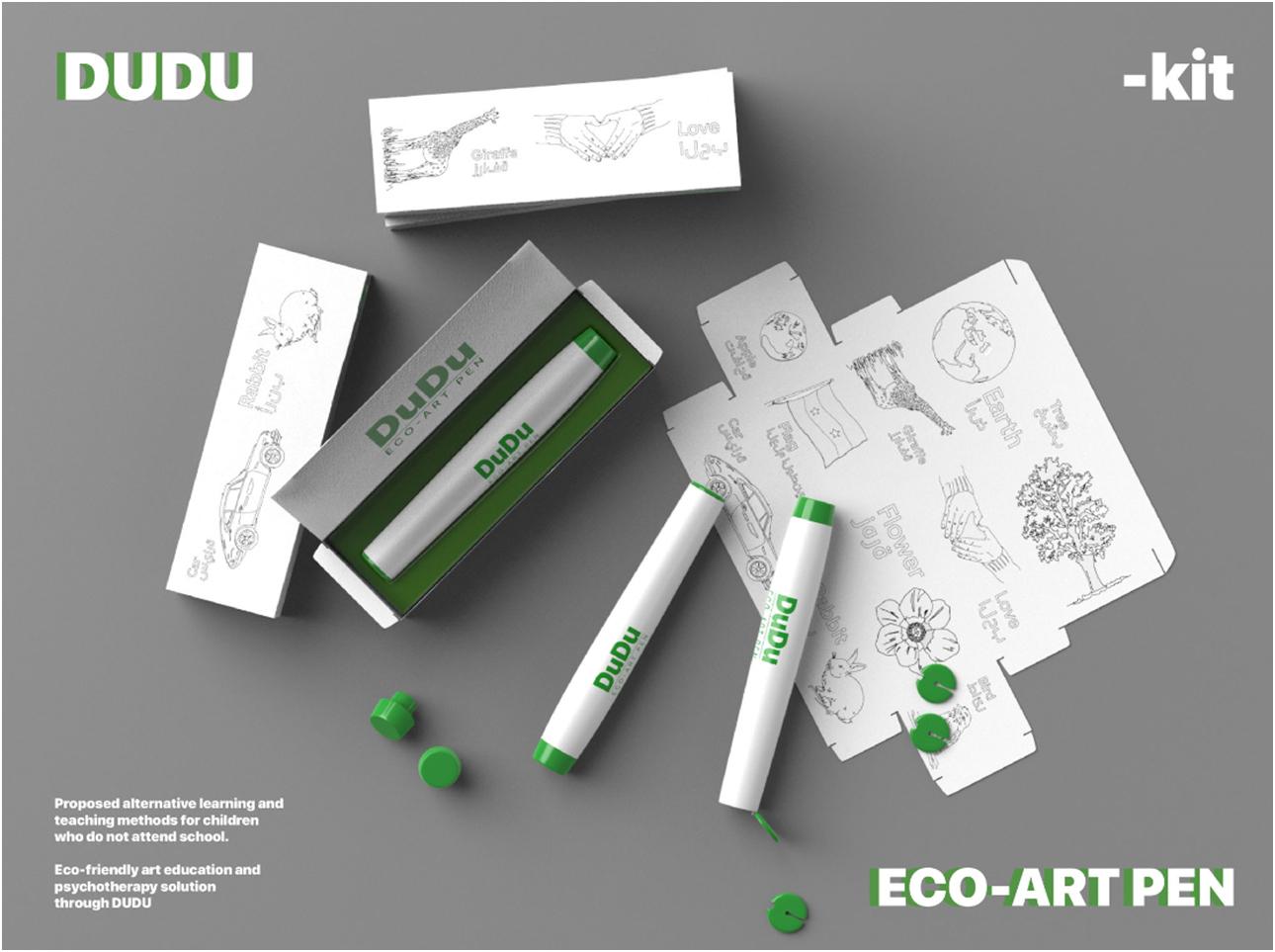Dudu Kit, iF Design Talent Award 2020 수상 첨부 이미지 -  iF Design Talent Award 2020 수상작 - XD 학과 2학년 오승빈 학생의 작품 'Dudu Kit'
